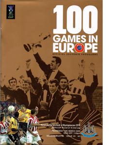 Newcastle United v Olympiacos 04/05 (Programme)