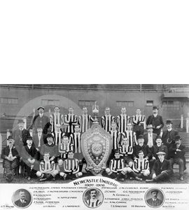 Newcastle United Team Photo 1907-08 (Print)
