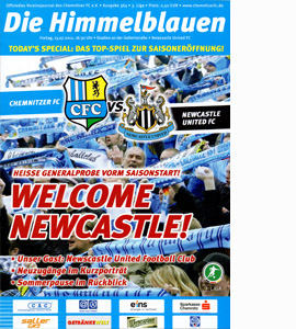 Chemnitzer v Newcastle United Friendly (Programme)