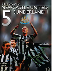 Newcastle United 5 Sunderland 1 (DVD)