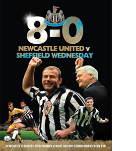 Newcastle United 8 Sheffield Wednesday 0. (DVD)