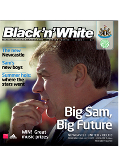 Newcastle United v Celtic Friendly 07/08 (Programme)