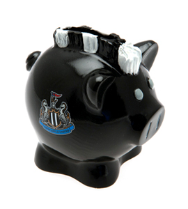 Newcastle United F.C. Mohawk Piggy Bank