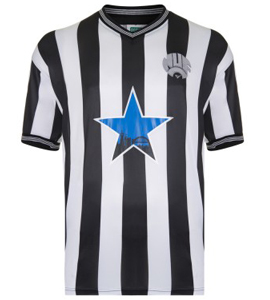 Newcastle United 1984 Home Shirt