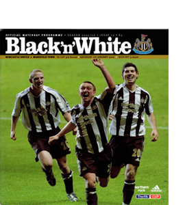 Newcastle United v Mansfield Town FA Cup 05/06 (Programme)