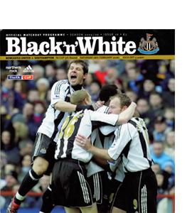 Newcastle United v Southampton FA Cup 05/06 (Programme)