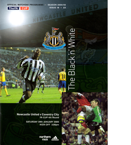Newcastle United v Coventry City 04/05 (Programme)