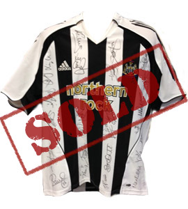 Newcastle United 2005/06 Home Shirt (Signed)