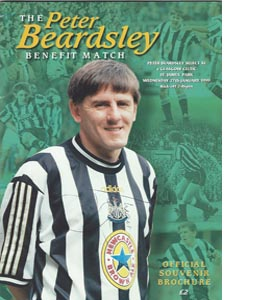 Newcastle United Peter Beardsley Testimonial 05/06 (Programme)