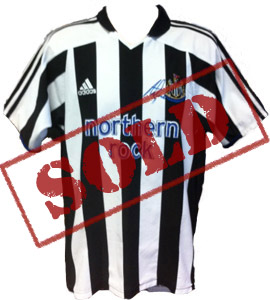 Newcastle United Alan Shearer 2004/05 Home Shirt (Signed)