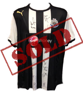 Newcastle United 2012/13 Home Shirt (Signed)