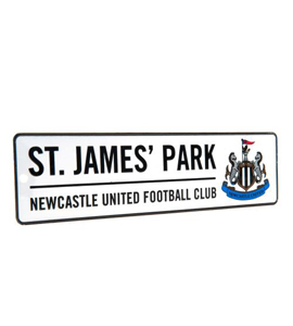 Newcastle United F.C. Window Sign