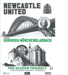 Newcastle United v Borussia Mönchengladbach 2015/16 (Programme)