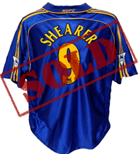 Newcastle United Alan Shearer 1998/99 Away Shirt (Signed)