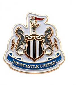 Newcastle United Pin Badge