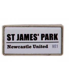 Newcastle United F.C. Street Sign Badge