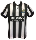 Newcastle United 1994-95 Official Retro Home Shirt