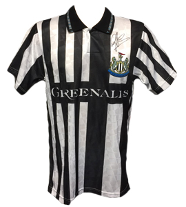 Newcastle United Shirt Signed by Gavin Peacock (Signed)