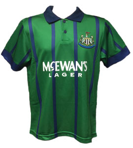 Newcastle United 1993-95 Official Retro Third Shirt