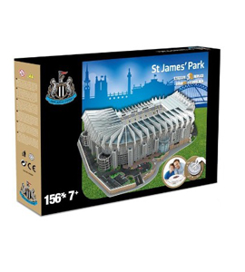 Newcastle United 3D Football Stadium Puzzle