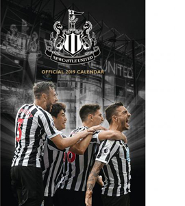 Newcastle United Official 2019 Calander