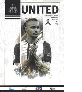 Newcastle United v Sheffield United 2019/20 (Programme)