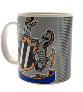 Newcastle United F.C. Official Halftone (Boxed Mug)