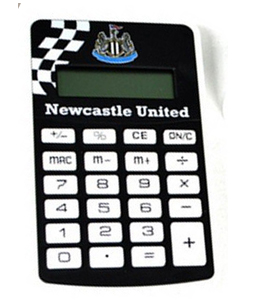 Newcastle United Official Pocket Calculator