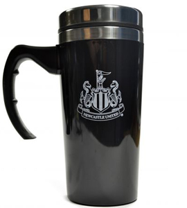 Newcastle United Official Travel Mug With Handle