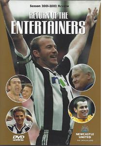 Newcastle United Season Review 2001/02 Return Entertainers (DVD)