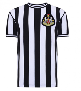 Newcastle United 1970 Official Retro Home Shirt