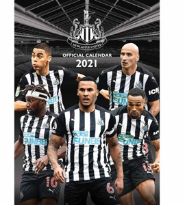 Newcastle United FC 2021 Calendar - Official A3 Wall Format
