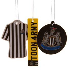 Newcastle United FC Official 3 Pack Air Freshener