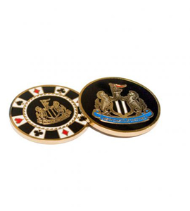 Newcastle United FC Official Golf Casino Chip Ball Marker