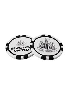 Newcastle United FC Official Golf Poker Chip Ball Markers