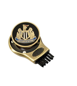 Newcastle United FC Official Golf Gruve Brush & Marker