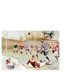 Newcastle United v Bradford City 1911 FA Cup Final (Print)
