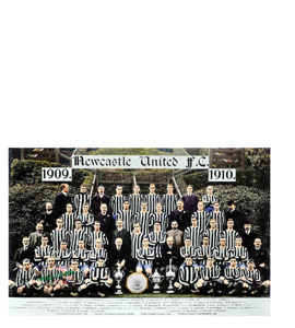 Newcastle United Team Photo 1909/10 League Champions 1909 (Print
