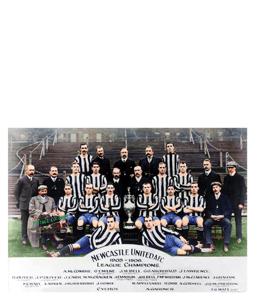 Newcastle United Squad 1905/06 League Champions 1905 (Print)