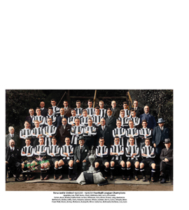 Newcastle United Squad 1927/28 League Champions 1927 (Print).