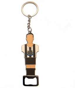 Newcastle United FC Foosball Bottle Opener Keyring
