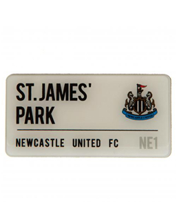 Newcastle United FC Street Sign Fridge Magnet