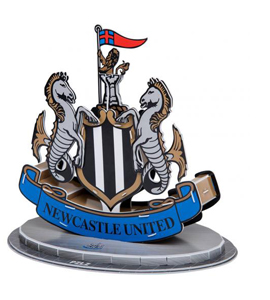 Newcastle United FC 3D Crest Puzzle