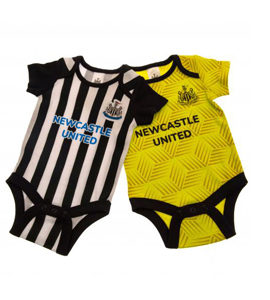 Newcastle United FC 2 Pack Bodysuit