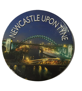Newcastle Upon Tyne Drinks (Coaster)