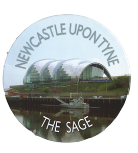 Newcastle Upon Tyne The Sage Drinks (Coaster)