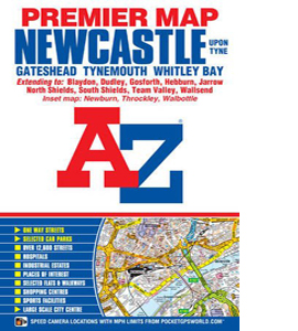 Newcastle Upon Tyne Premier Map