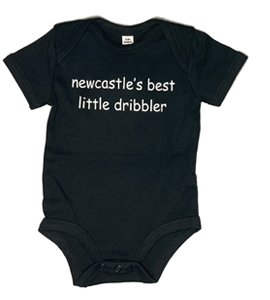 Newcastle's Best Little Dribbler, Vest (Babywear)