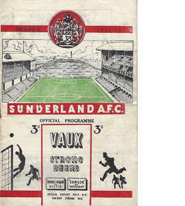 Newcastle v York 54/55 FA Cup Cup Semi-Final Reply (Programme)