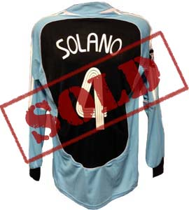 Nolberto Solano Newcastle United Shirt 2006/07 (Match-Worn)